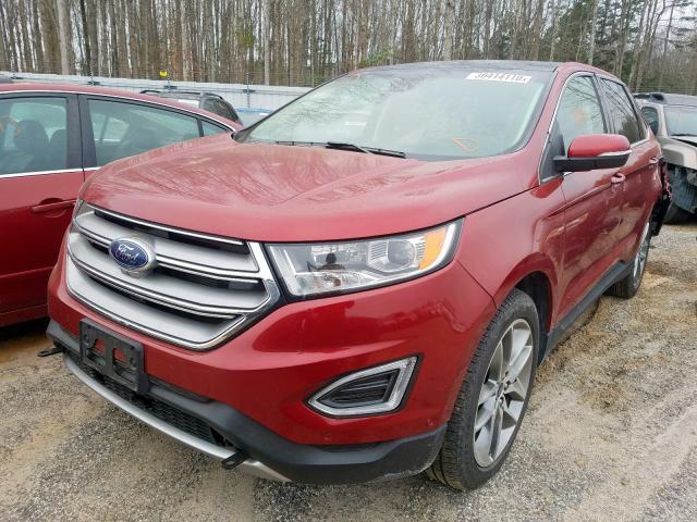 2017 Ford EDGE   Vin: 2FMPK4K86HBB95711