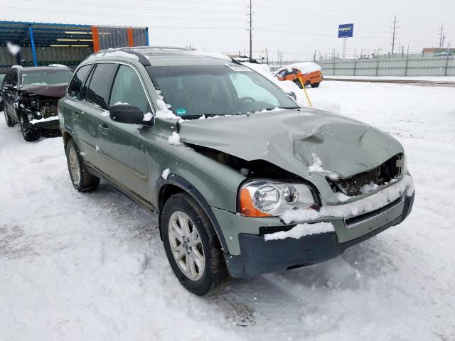 Volvo salvage cars for sale: 2006 Volvo XC90 V8