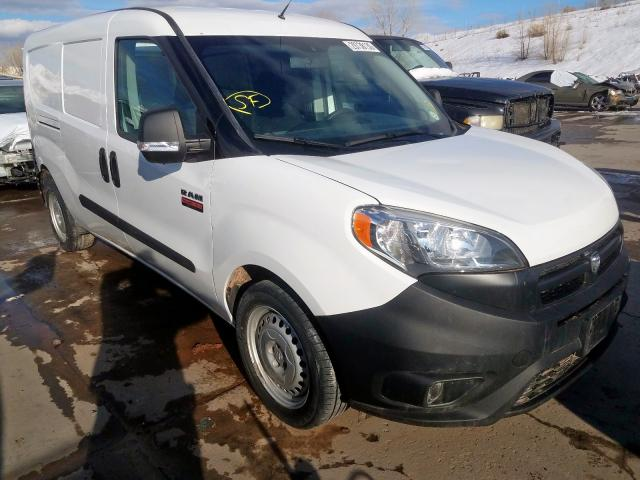 Salvage cars for sale from Copart Littleton, CO: 2018 Dodge RAM Promaster