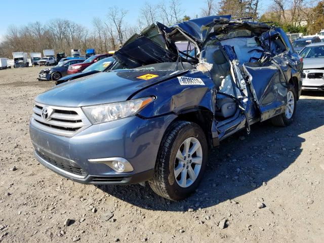 2013 Toyota  | Vin: 5TDBK3EH5DS186740