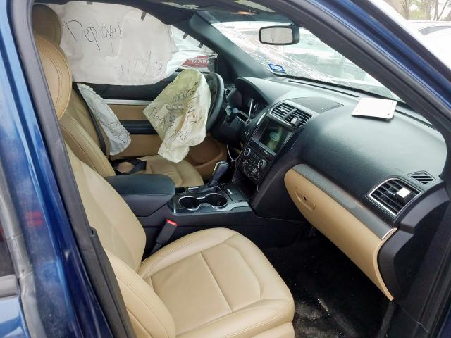 2017 Ford EXPLORER   Vin: 1FM5K7D85HGC75144