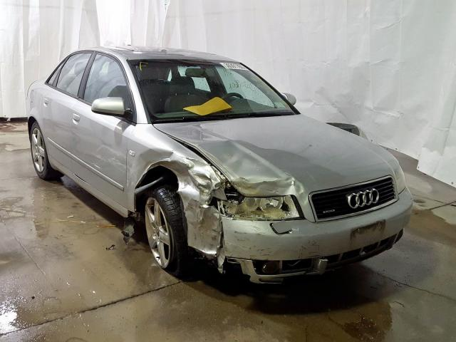 Salvage cars for sale from Copart Leroy, NY: 2005 Audi A4 1.8T Quattro