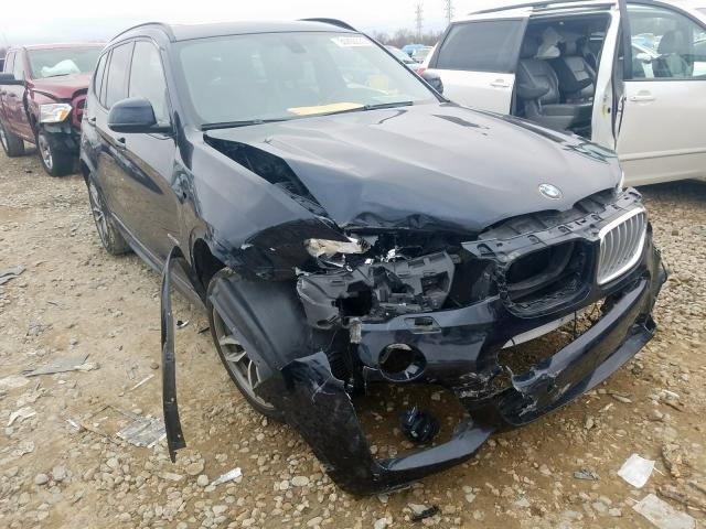 Salvage 2017 BMW X3 SDRIVE2 for sale