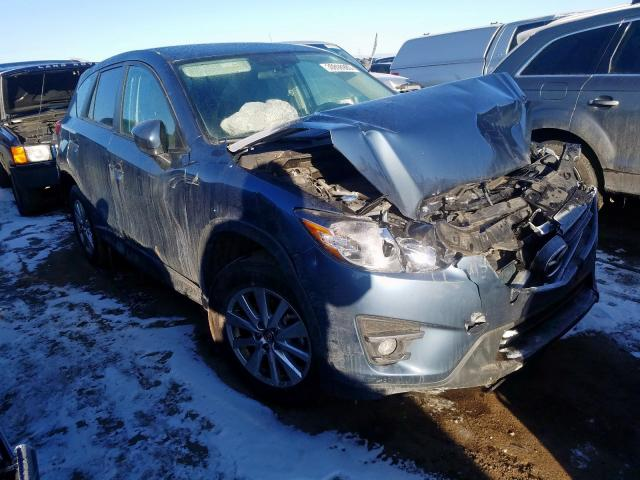 Vehiculos salvage en venta de Copart Brighton, CO: 2016 Mazda CX-5 Touring