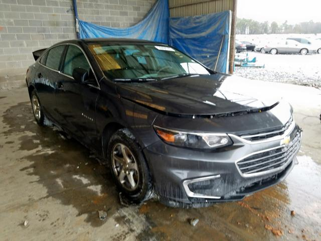 Salvage 2017 CHEVROLET MALIBU - Small image. Lot 30484780
