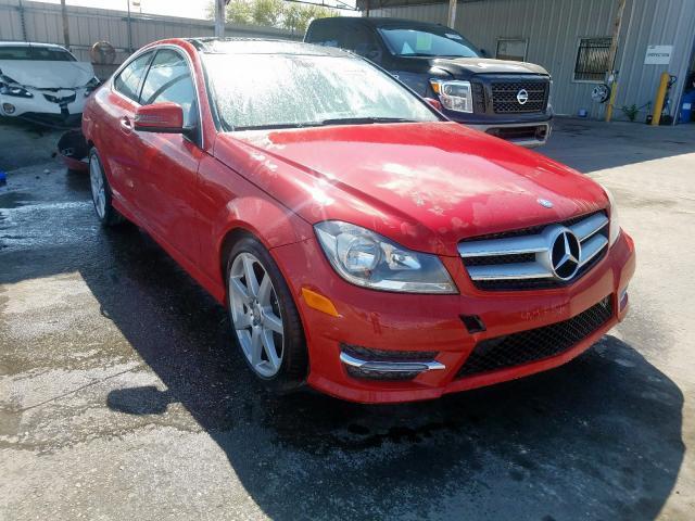 2013 Mercedes-benz C 350 3.5. Lot 30730300 Vin WDDGJ5HB1DG034370