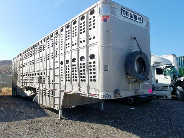 Wilson salvage cars for sale: 2016 Wilson Cattle TRL