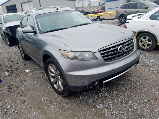 Infiniti salvage cars for sale: 2008 Infiniti FX35