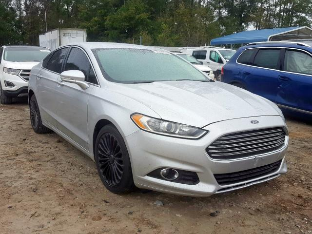 Salvage cars for sale from Copart Midway, FL: 2016 Ford Fusion Titanium