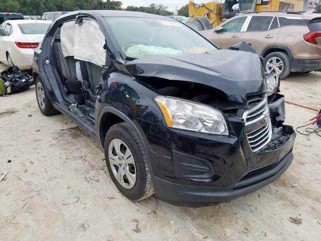 Chevrolet Trax LS salvage cars for sale: 2015 Chevrolet Trax LS