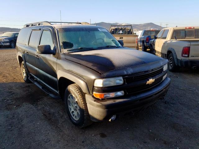Salvage cars for sale from Copart Helena, MT: 2002 Chevrolet Suburban K