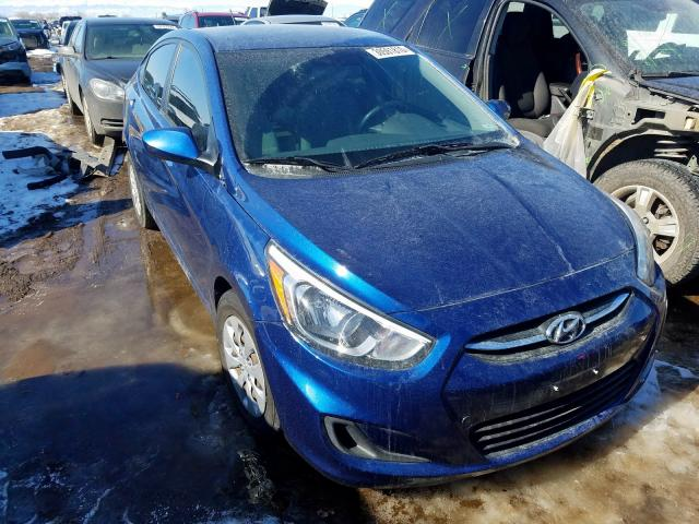 Hyundai salvage cars for sale: 2015 Hyundai Accent GLS
