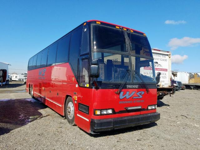 Salvage cars for sale from Copart Hammond, IN: 1996 Prevost Bus