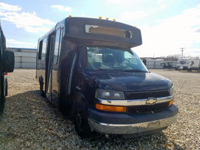 Chevrolet Express G3 salvage cars for sale: 2009 Chevrolet Express G3