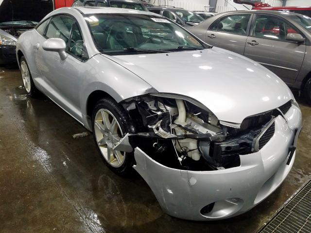 Mitsubishi Eclipse ES salvage cars for sale: 2007 Mitsubishi Eclipse ES