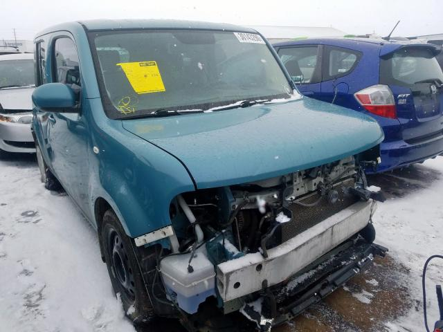 Nissan Cube Base salvage cars for sale: 2010 Nissan Cube Base