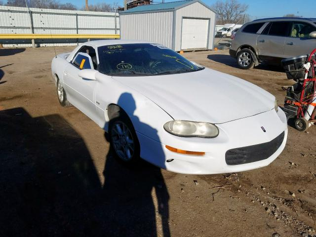 Chevrolet Camaro salvage cars for sale: 2002 Chevrolet Camaro