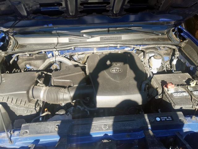 2017 Toyota TACOMA   Vin: 3TMCZ5AN7HM054950