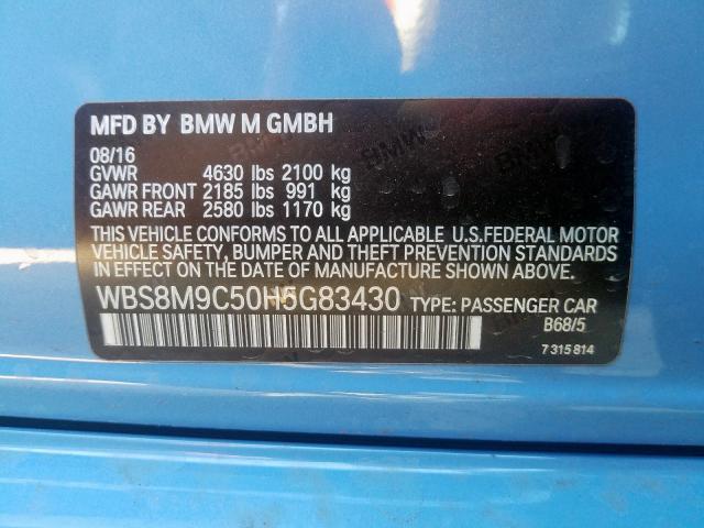 WBS8M9C50H5G83430