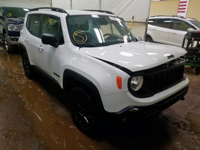 Salvage cars for sale at Davison, MI auction: 2020 Jeep Renegade S