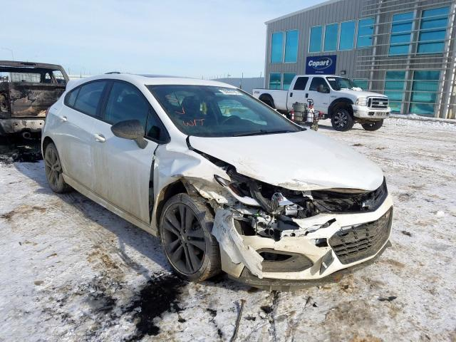 Chevrolet salvage cars for sale: 2018 Chevrolet Cruze LT