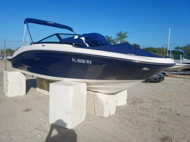 Sea Ray Vehiculos salvage en venta: 2019 Sea Ray Boat