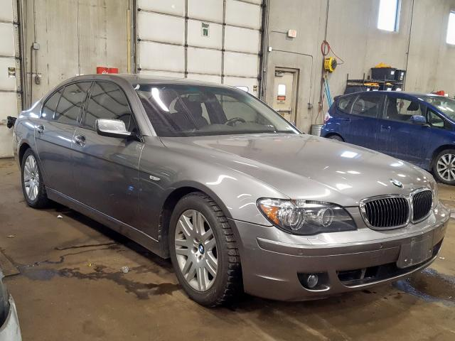 Salvage 2006 BMW 750 I for sale