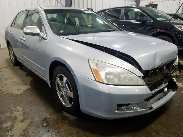 Honda Accord Hybrid salvage cars for sale: 2006 Honda Accord Hybrid