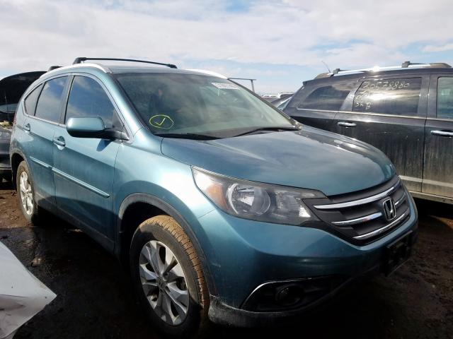 Honda CR-V EXL salvage cars for sale: 2013 Honda CR-V EXL