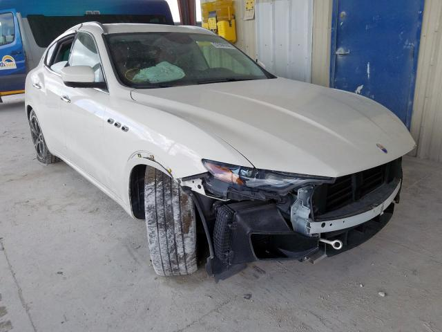 Salvage cars for sale from Copart Homestead, FL: 2017 Maserati Levante SP