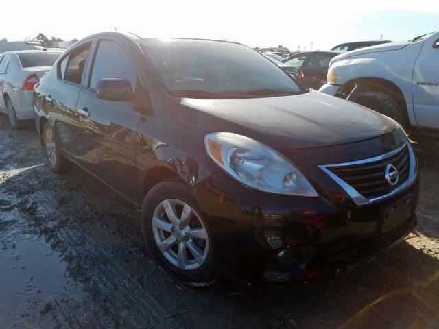Salvage cars for sale from Copart Houston, TX: 2013 Nissan Versa S