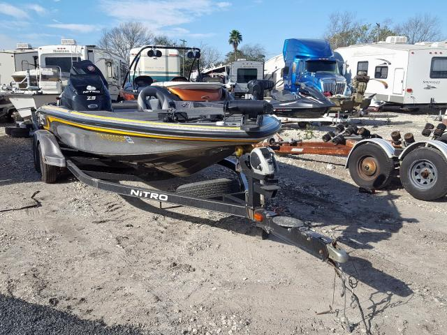 Salvage 2013 Tracker BOAT for sale