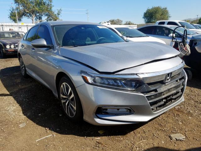 Honda Accord Hybrid salvage cars for sale: 2018 Honda Accord Hybrid