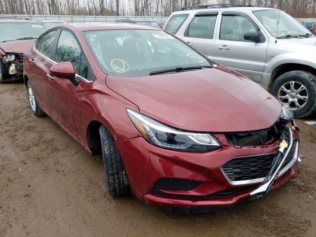 2016 Chevrolet Cruze LT for sale in Davison, MI