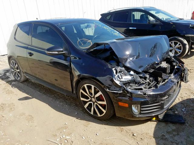 Salvage cars for sale from Copart Houston, TX: 2012 Volkswagen GTI