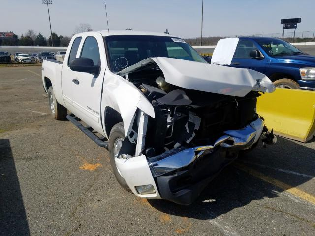 Salvage cars for sale from Copart Concord, NC: 2011 Chevrolet Silverado