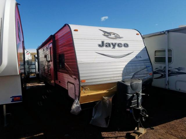 Jayco salvage cars for sale: 2017 Jayco Travel Trailer