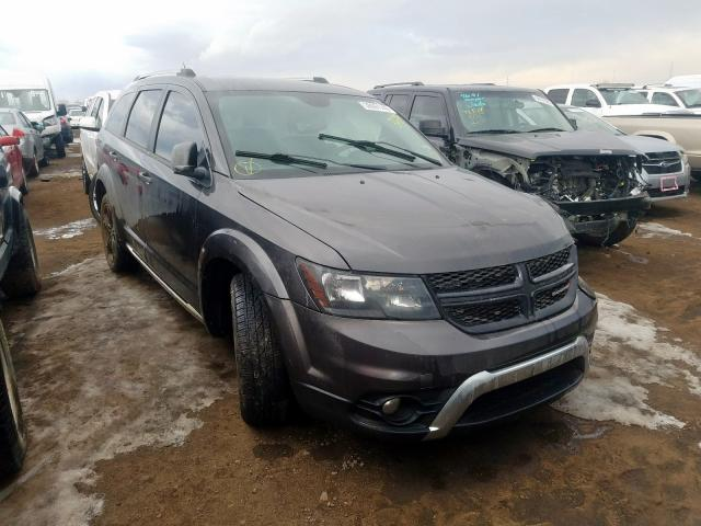 Dodge Journey CR salvage cars for sale: 2017 Dodge Journey CR