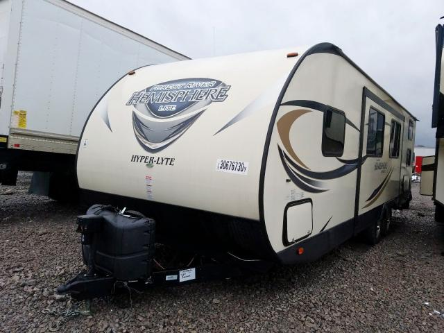 2000 ORS CAMPER - Left Front View