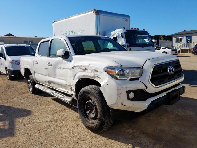 Salvage cars for sale from Copart Kapolei, HI: 2016 Toyota Tacoma DOU