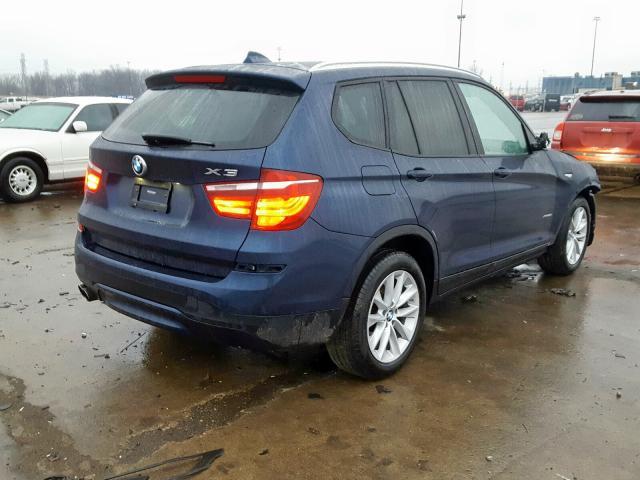 цена в сша 2017 BMW X3 XDRIVE28I 5UXWX9C52H0D99945