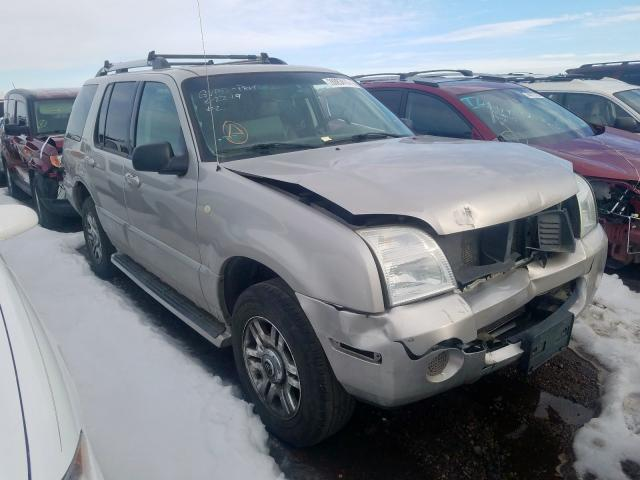 Salvage cars for sale from Copart Brighton, CO: 2005 Mercury Mountainee