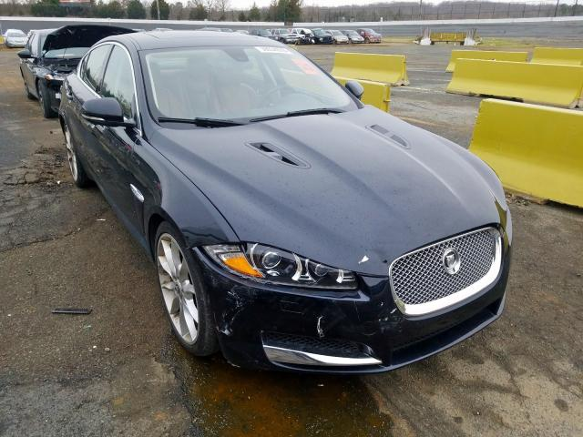 Salvage cars for sale from Copart Concord, NC: 2012 Jaguar XF Superch