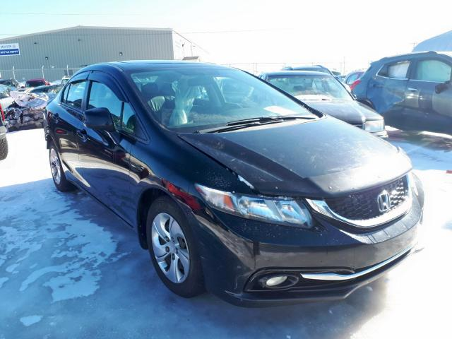 Salvage 2013 Honda CIVIC TOURING for sale