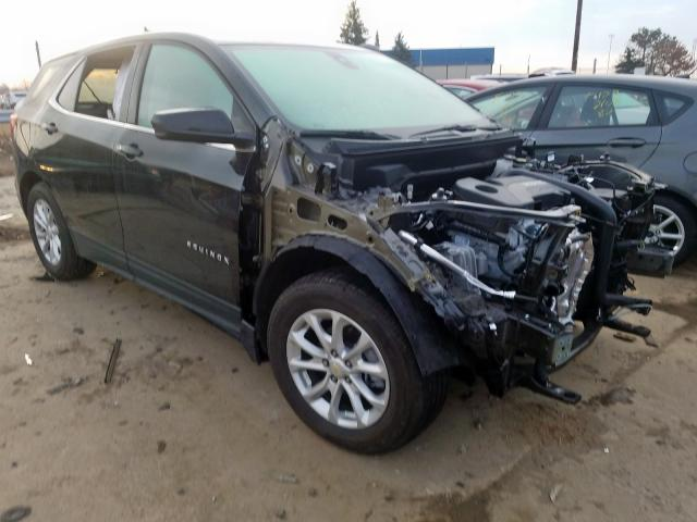 Chevrolet Equinox LT salvage cars for sale: 2020 Chevrolet Equinox LT