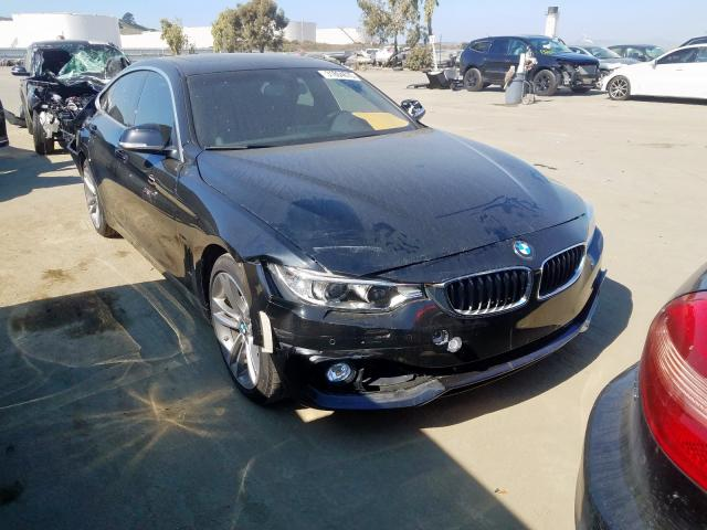 BMW 428 I Gran salvage cars for sale: 2016 BMW 428 I Gran