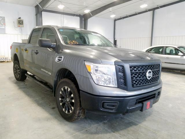 Nissan Titan XD S salvage cars for sale: 2017 Nissan Titan XD S
