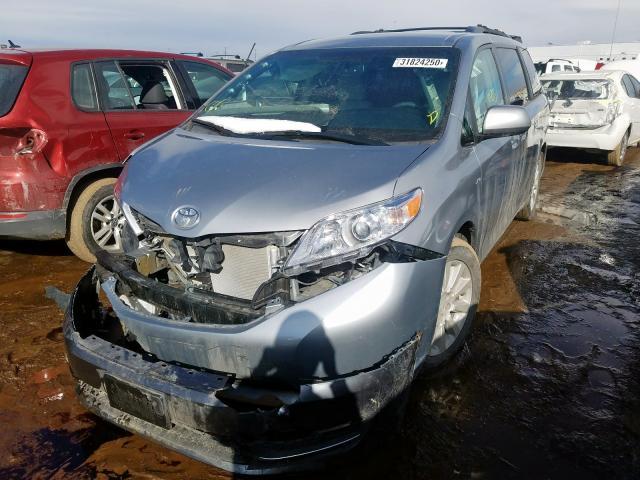 2016 Toyota SIENNA | Vin: 5TDJK3DC7GS145693