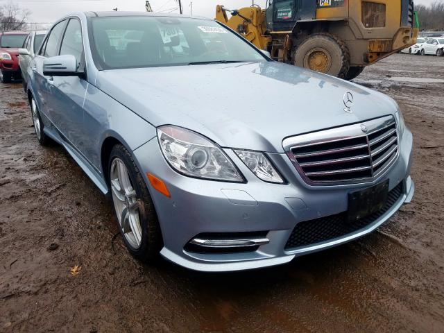 Salvage cars for sale from Copart Hillsborough, NJ: 2013 Mercedes-Benz E 350 4matic