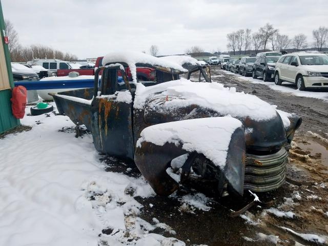 Chevrolet Truck salvage cars for sale: 1952 Chevrolet Truck